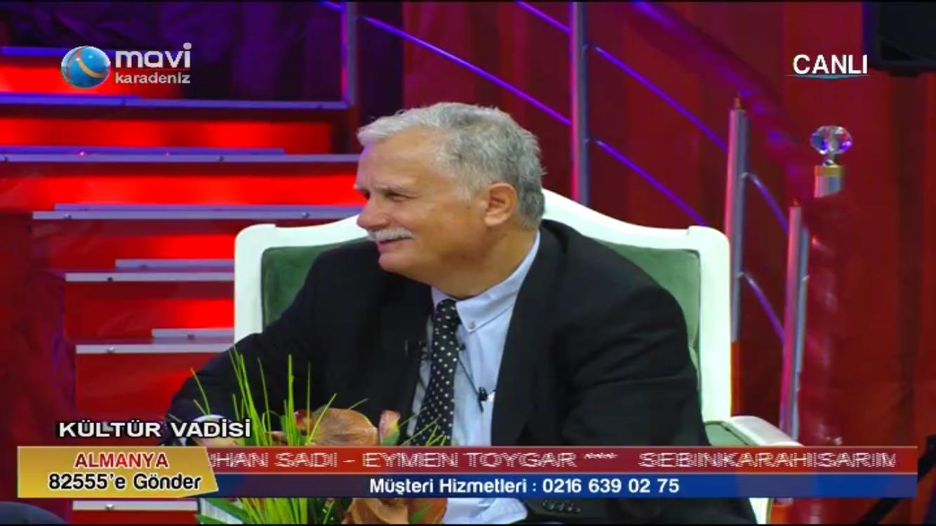Kültür vadisi programı Mavi Karadeniz televizyonunda başladı