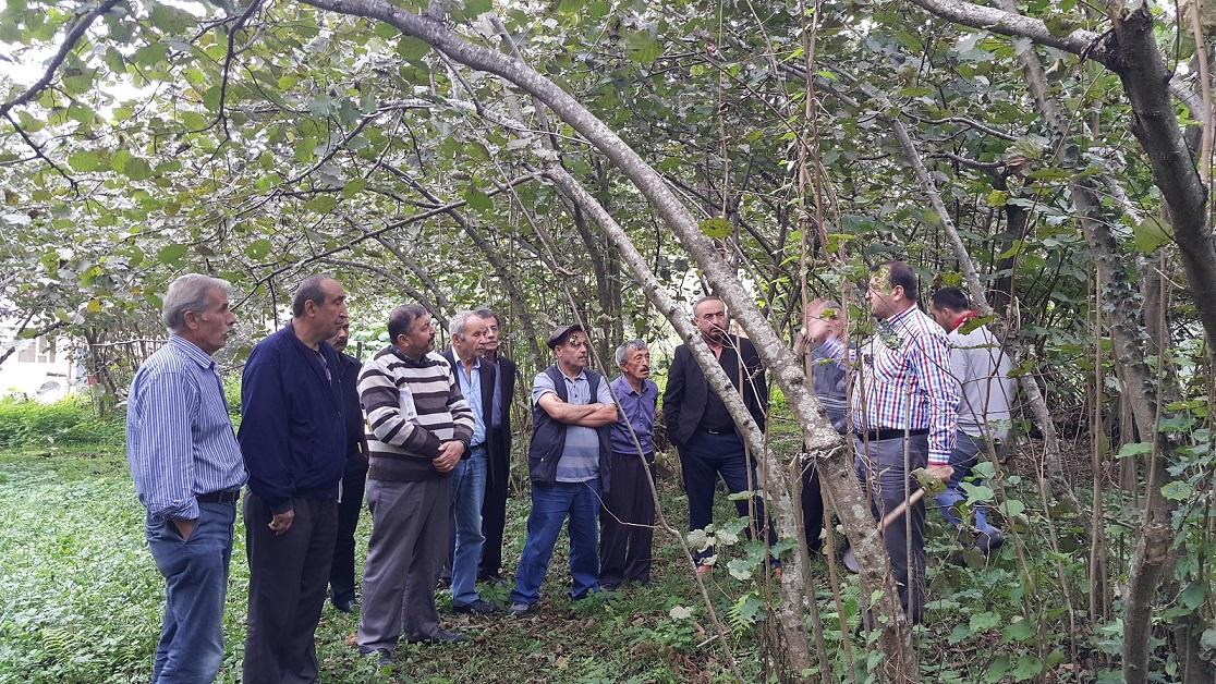 Milli Tarım seferberliği için köy ziyaretleri