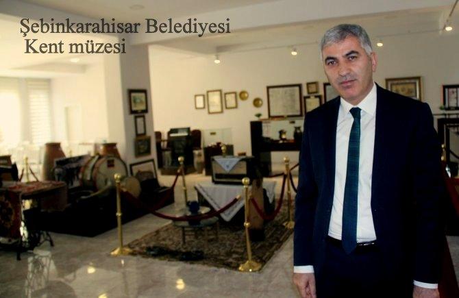 Şebinkarahisar kültürel kimlik mirası kent müzesinde sergileniyor