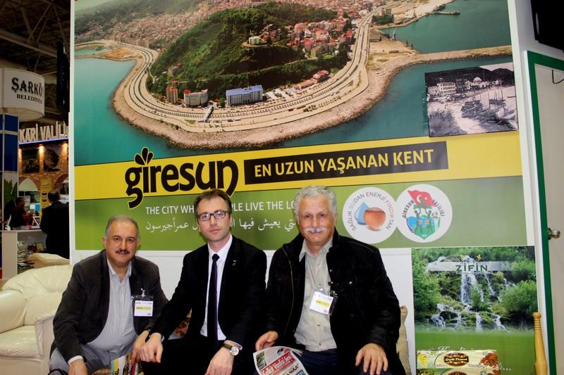 Tamer Uzuner ile Giresun Turizmi farkındalık yaşıyor