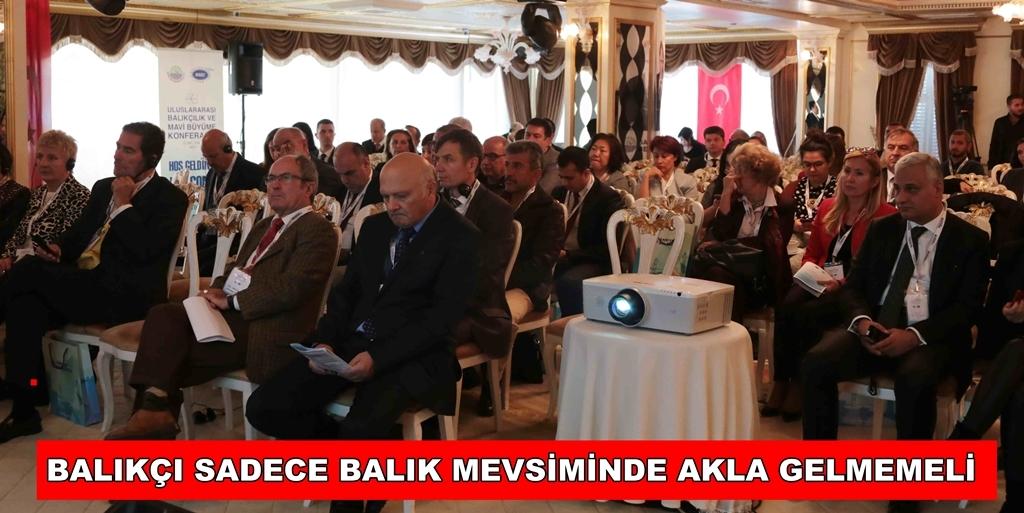 Giresun Vakfı Başkanı Ahmet Dokumacı Konferansta konuştu