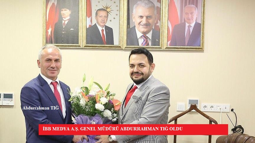 Giresunlu hemşerimiz Abddurrahman Tığ, Medya A.Ş. Genel müdürü oldu