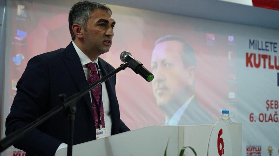 Şebinkarahisar AK Parti ilçe Başkanı Nejat Okuyar güven tazeledi