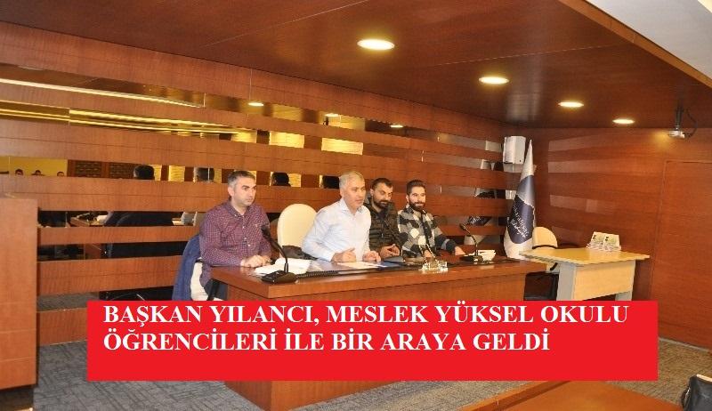 Başkan Yılancı, Üniversite öğrencilerini Belediyede ağırladı
