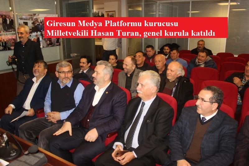 İstanbul Milletvekili Hasan Turan Gazeteci Arkadaşlarıyla Buluştu