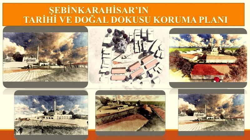 Şebinkarahisar'ın tarihi ve doğal dokusu koruma planı