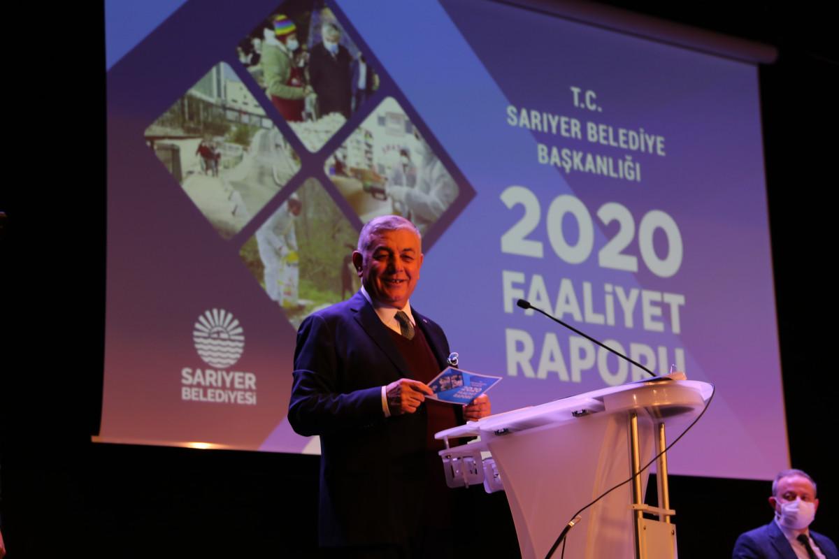 SARIYER'İN 2020 FAALİYET RAPORU MECLİSTEN GEÇTİ